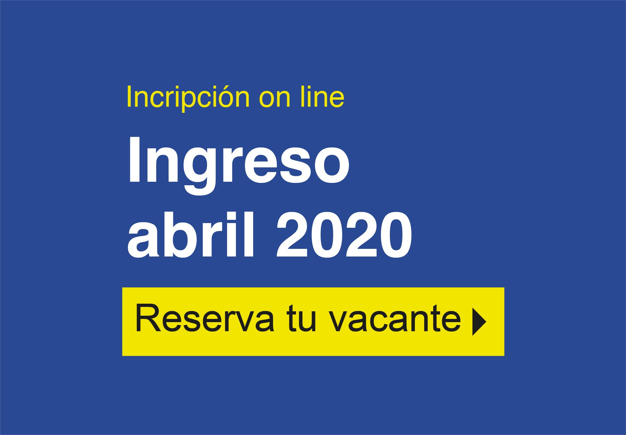Ingreso Abril 2020-Septiembre 2020