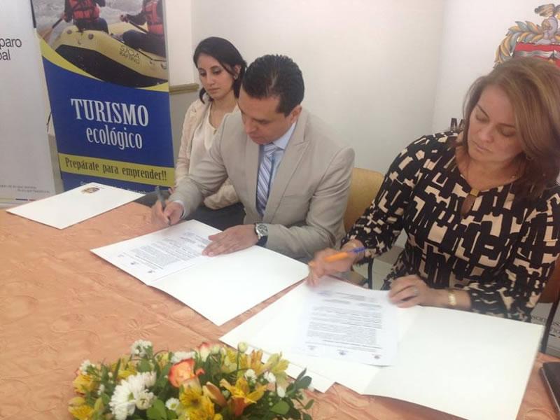 Convenio con El Ilustre Municipio de Loja