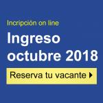 Ingreso Octubre 2018