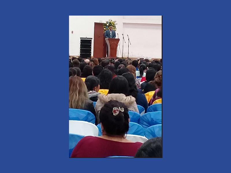 """Rudy Garcia Vicepresidente del Congreso; """"La docencia exije prácticas pedagógicas continuas"""""""