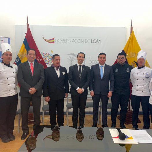 """ISTB y Gobernación de Loja presentan a medios de comunicación la delegación de participantes en """"Copa Culinaria Raíces 2019"""""""