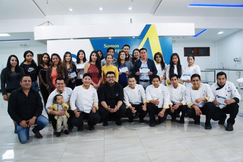 Clausuran curso-taller de Cocina Ecuatoriana
