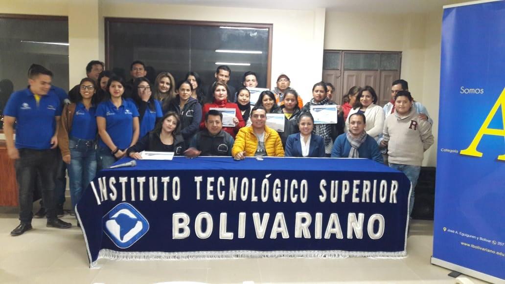 Carrera de Contabilidad  Clausura curso-taller en barrio Colinas Lojanas