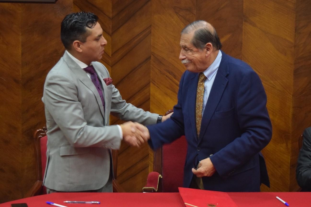 FIRMA DE CONVENIO DE COOPERACIÓN INTERINSTITUCIONAL ENTRE EL GAD MUNICIPAL DE LOJA – INSTITUTO BOLIVARIANO