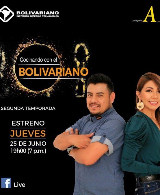 GRAN ESTRENO SEGUNDA TEMPORADA DE COCINANDO CON EL BOLIVARIANO