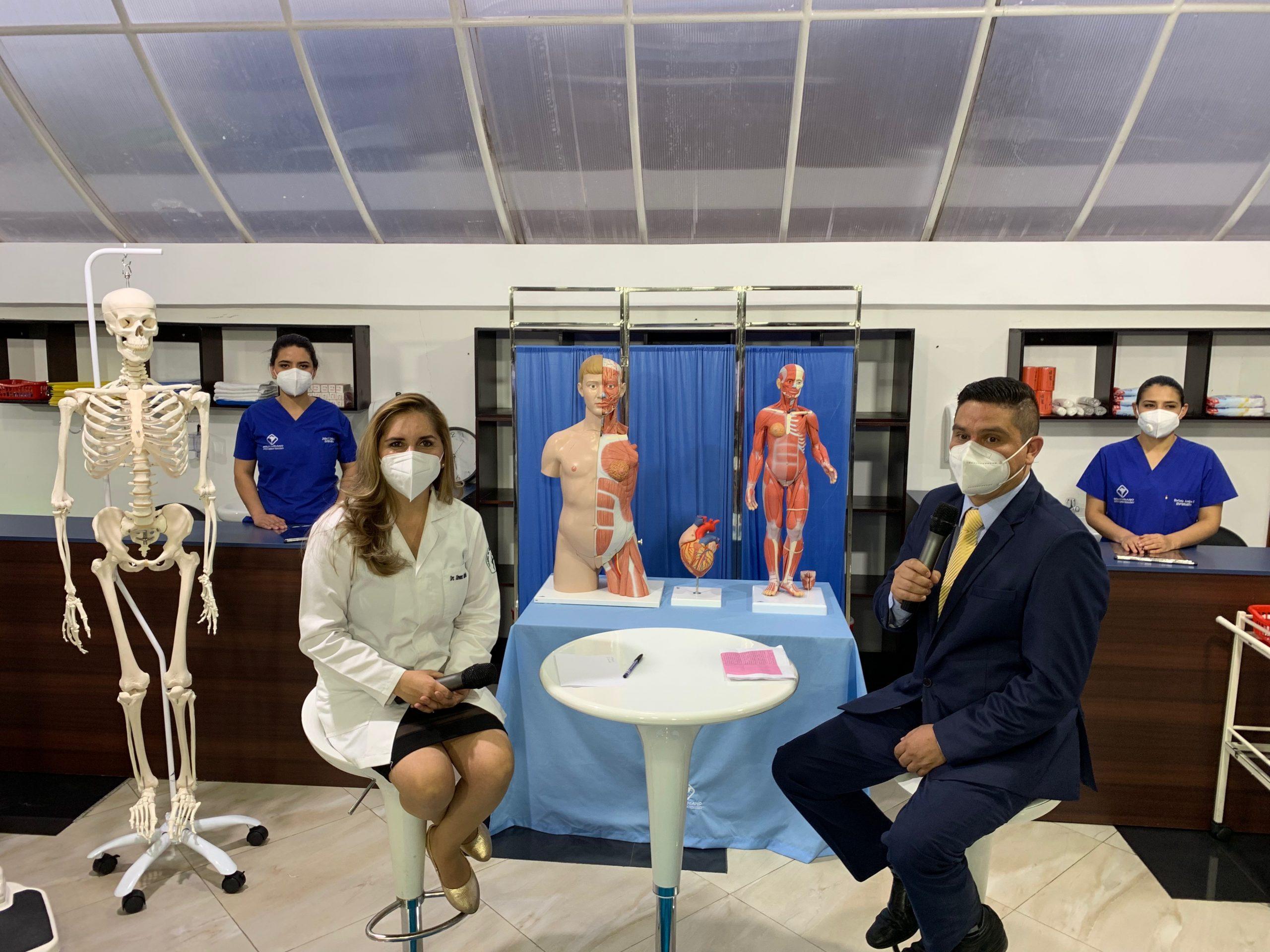 Gran estreno del programa CUIDANDO TU SALUD , un aporte a la sociedad, impulsado por la carrera de Enfermería del INSTITUTO BOLIVARIANO DE LOJA
