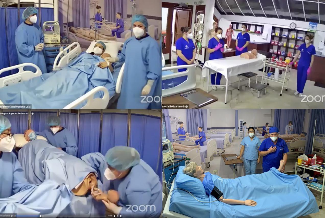 Congreso Virtual de Enfermería del Instituto Superior Tecnológico BOLIVARIANO, un verdadero aporte a la sociedad lojana