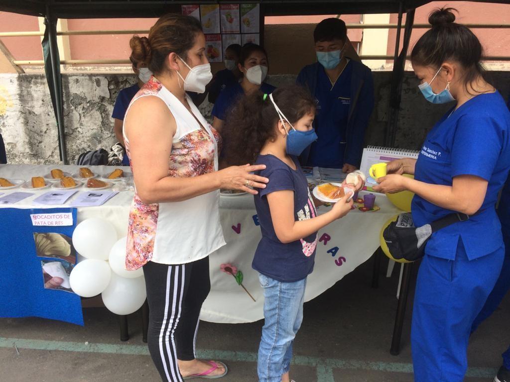 Bolivariano realizó feria de salud en La Tebaida