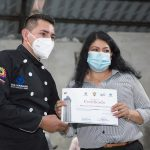 SE CLAUSURÓ CURSO DE GASTRONOMÍA DICTADO POR EL INSTITUTO BOLIVARIANO EN CONVENIO CON EL MUNICIPIO DE LOJA