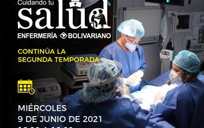 Reinicia segunda temporada del  programa 'Cuidando Tu Salud'