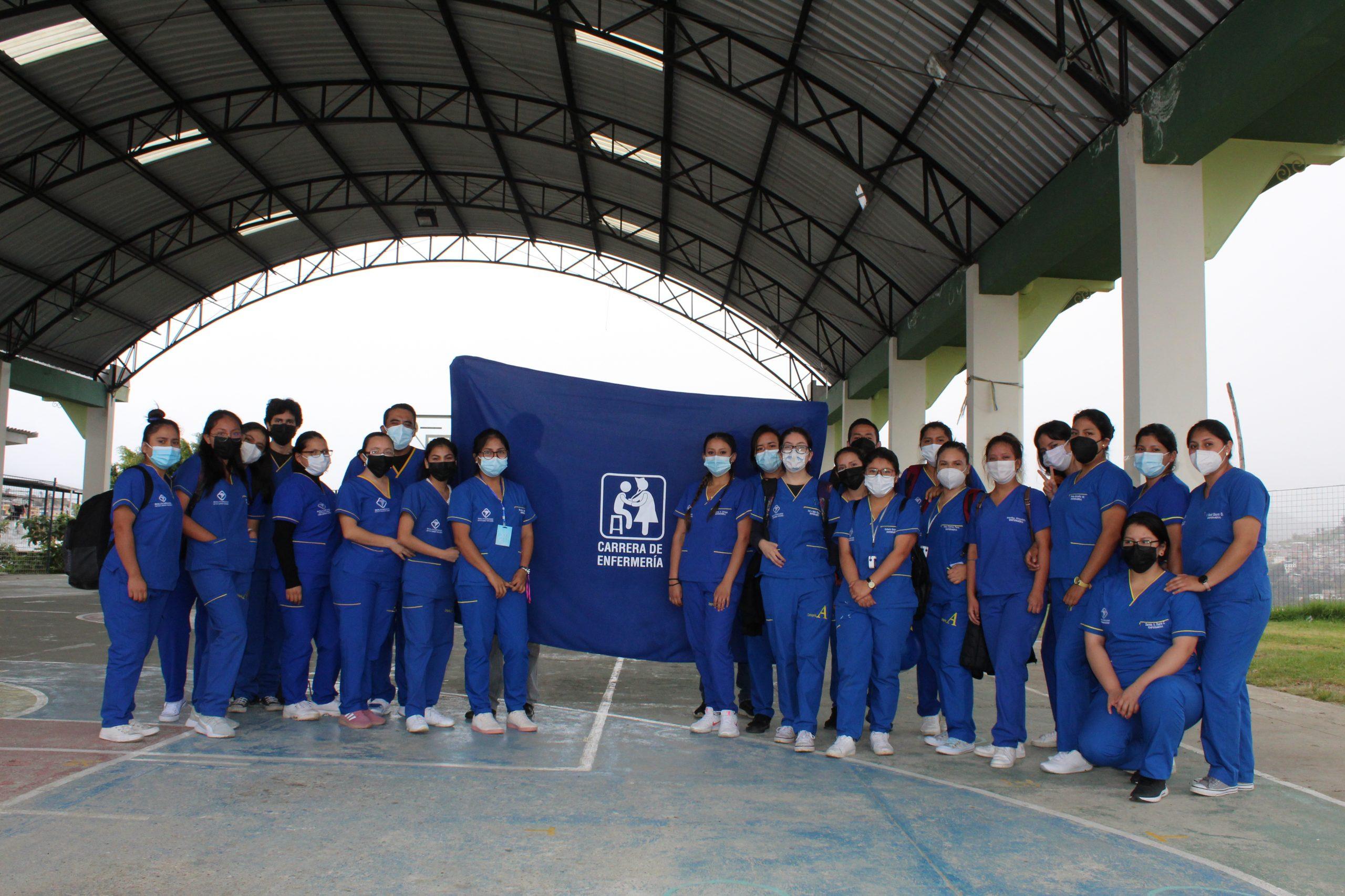 UNIVERSITARIO BOLIVARIANO inició programa integral de salud en 54 barrios urbanos de Loja