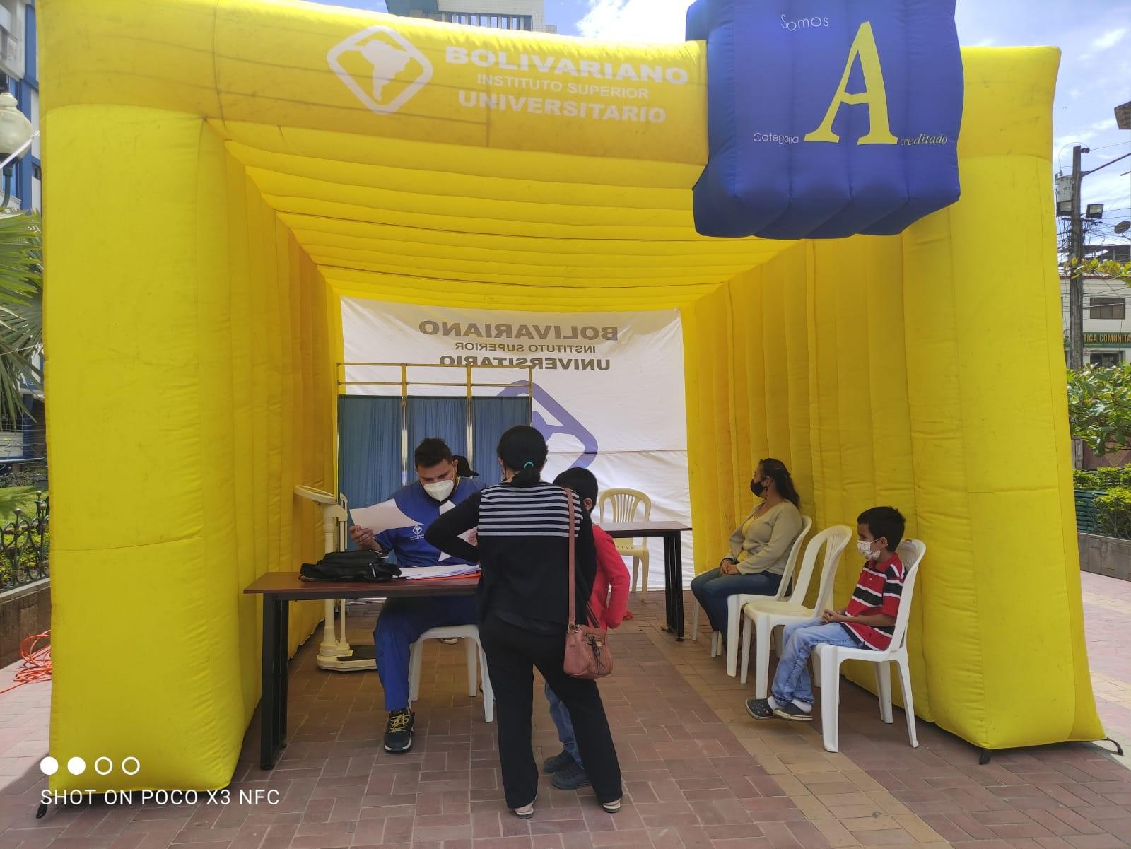 Bolivariano realiza jornadas de atención de salud en Piñas